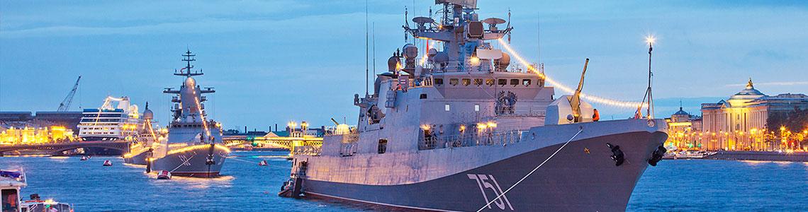 День Военно-морского флота в Санкт-Петербурге