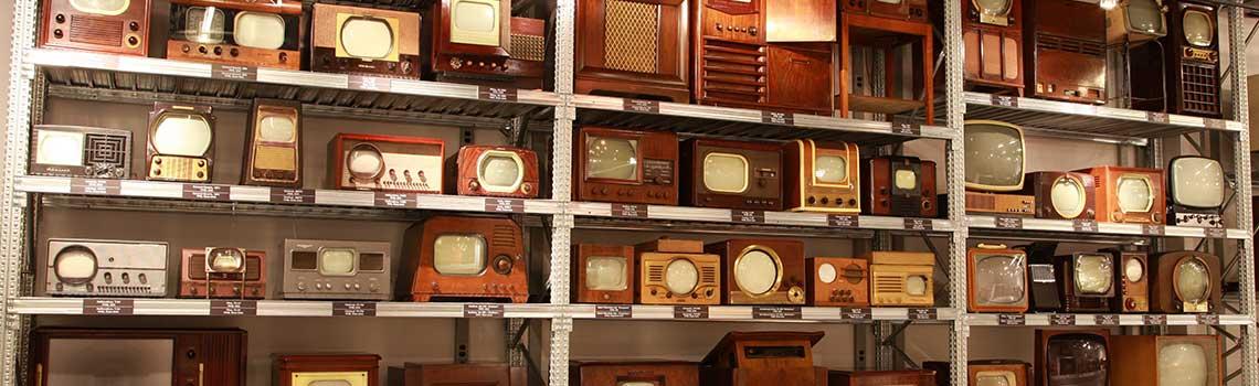 Выставка истории телевидения в Санкт-Петербурге